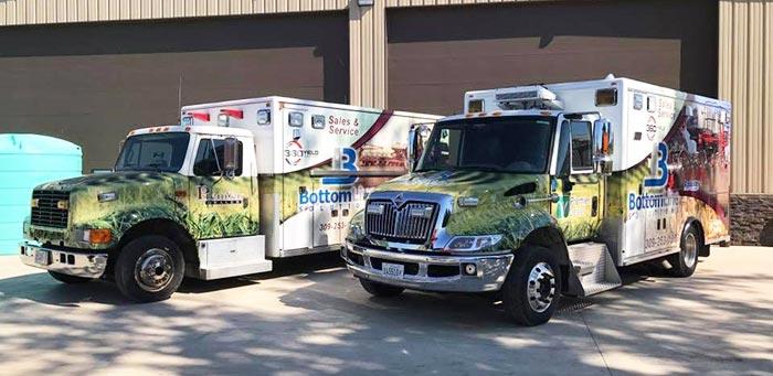 Bottom Line Solutions Service Trucks - Morton, IL
